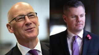 John Swinney and Derek Mackay