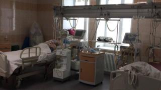 Палата реанимации в больнице Апатитов