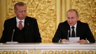 Эрдўғон ва Путин