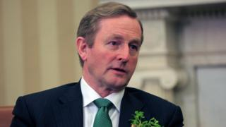 Enda Kenny speaks in the Oval Office March 17, 2015 in Washington