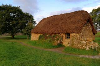 Building at Culloden Battlefield