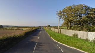 Briddlesford Road in Newport