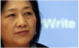 調査報道で知られる改革派の高瑜氏(2007年2月撮影)