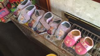 Slippers of adoptive children