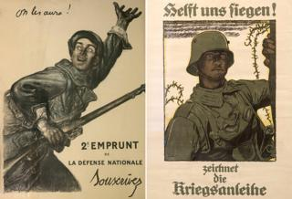 WW1 posters - France and Germany