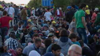 Беженцы в Венгрии