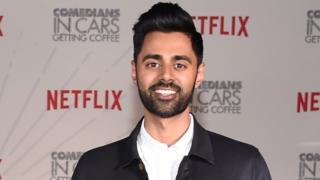Comedian Hasan Minhaj at Classic Car Club Manhattan on June 25, 2018