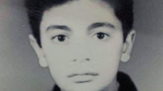 Taimour Abdulla Ahmed as a young boy of 13.