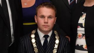 DUP councillor Thomas Hogg