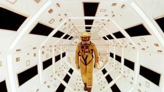 """مشهد من فيلم """"2001: ملحمة الفضاء"""""""