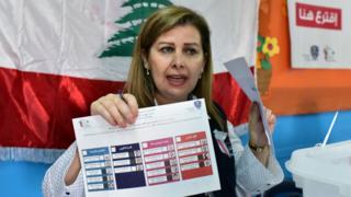 لبنانية تشرح تفاصيل الانتخاب