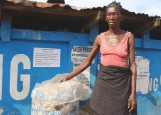 Waster collector Yaa Sule