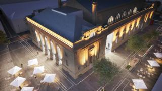 Perth City Hall concept