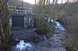 Community hydro project in Treherbert