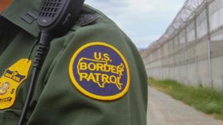 美国边防人员在与墨西哥之间的边境