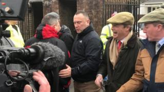 General Election 2019: Ebbw Vale gives Farage gets mixed reaction
