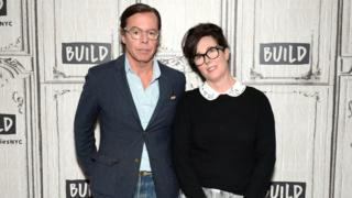 Designers Andy Spade and Kate Spade in New York City in 2017.