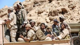Abarwanyi muri Yemeni