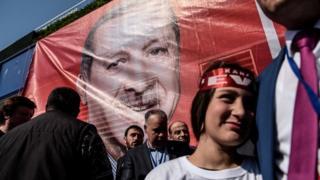 Erdoğan afişi