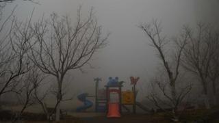 雾霾下的中国城市
