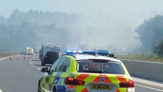 A338 fire