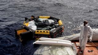 People wey wan use illegal way comot Africa enter Europe dey die any how inside Mediterranean sea.
