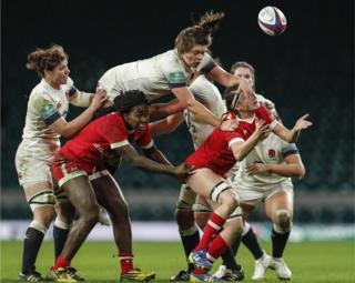 England v Croatia women's rugby