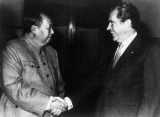نکسن کے دورہ چین کو اس کی بڑی سفارتی کامیابی قرار دیا جاتا ہے
