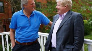 Tim Martin and Boris Johnson