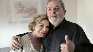 Dona Marisa e Lula