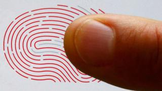 Fingerprint and a finger