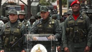 File photo of Venezuelan Defence Minister Gen Vladimir Padrino in Caracas (3 May 2020)