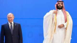 """بن سلمان في قمة الـ 20 : """"هاي فايف""""مع بوتين وابتسامة لترامب و """"نظرة"""" لأردوغان"""