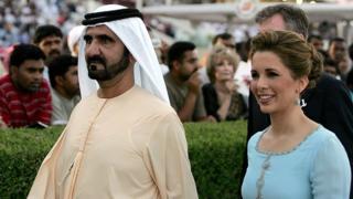 Cheikh Mohammed Al-Maktoum Dubai Emirats Arabes-Unis Princesse Haya bint al-Hussein