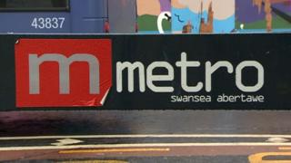 Swansea metro sign