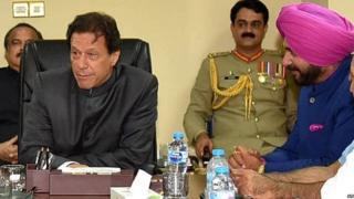 عمران خان اور سدھو
