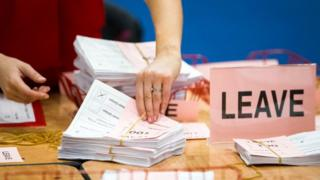 leave ballot papers