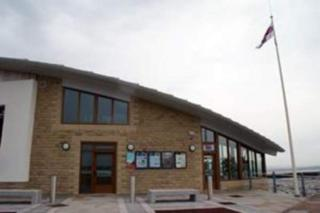 The RNLI station came under attack just half an hour after a group of children had visited the centre