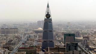 A view of the Saudi capital Riyadh