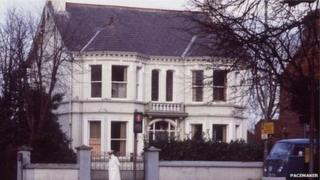 The former Kincora boys home in east Belfast