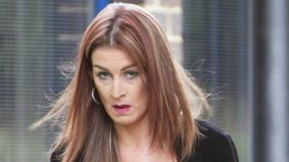 Naomi Oxley appearing at Hastings magistrates court in August