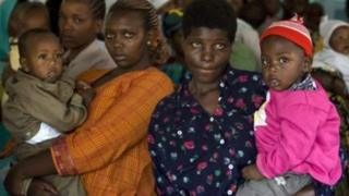 On average, one woman for Tanzania get more than five pikin for her lifetime.