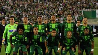 الفريق البرازيلي المنكوب