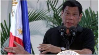 Duterte avuga ko ashaka gutegura kazoze keza k'abana bariko baravuka
