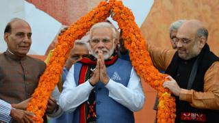 राजनाथ सिंह, मोदी और अमित शाह