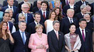 जागतिक नेते जी20 समिटमध्ये