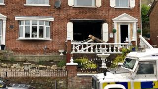 House attacked in the Dermott Hill Parade area