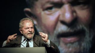 """Brazil""""s former president (2003-2011) Luiz Inacio Lula da Silva in Rio de Janeiro, Brazil on October 4, 2016"""