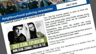 Neighbourhood police newsletter
