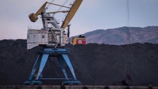 Уголь в КНДР